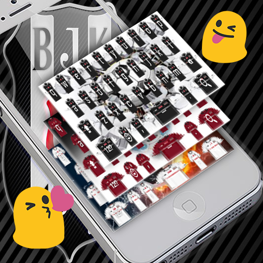 Besiktas Keyboard Emojis