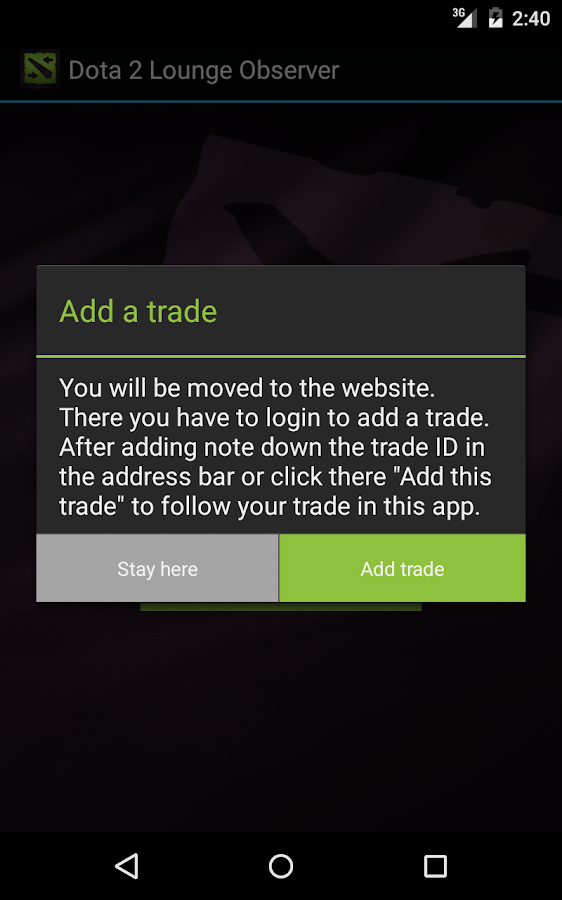 trade observer for dota2lounge android apps on google play
