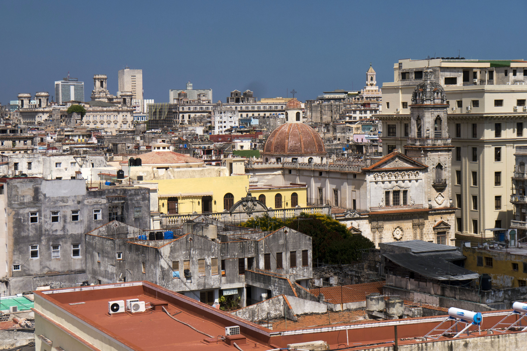 Old Havana in Cuba is a UNESCO World Heritage site.