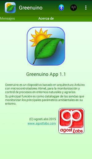 Greenuino App