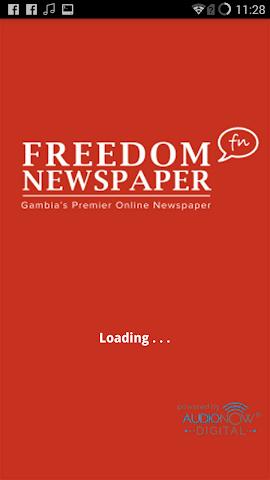 android Freedom Radio Gambia Screenshot 0