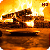 Crackling Fire Sounds: Relaxing Fireplace HD Android APK Download Free By Serenely