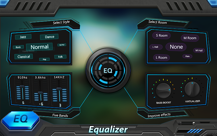 Equalizer & Bass Booster Pro- screenshot