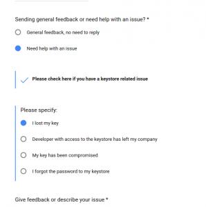 Keystore Lost in Android – Geek Code Hub