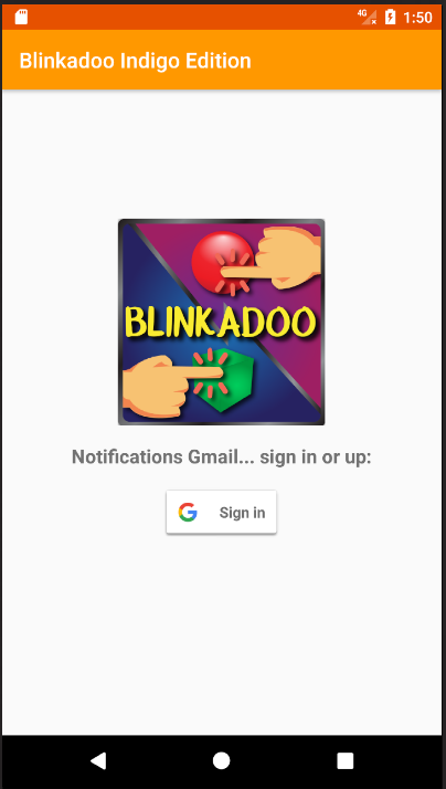 Blinkadoo Indigo Release- screenshot