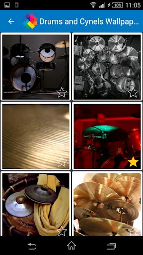 ドラムやシンバルの壁紙
