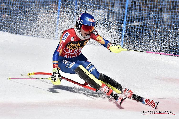 🎥 Mikalea Shiffrin zorgt voor nieuw record op slalom na wervelende race