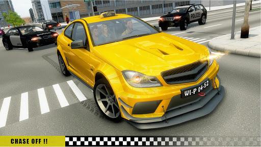 Mobile Taxi Car Driving Games Police Car Simulator 1.4 screenshots 1