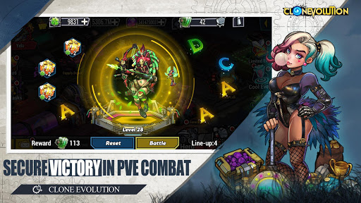 Clone Evolution: Cyber War-Borderlands Fantasy 1.4.9 screenshots 4