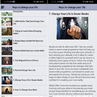 Keys to change your life for PC-Windows 7,8,10 and Mac apk screenshot 2