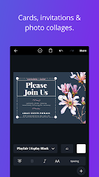 Canva: Poster, banner, card maker & graphic design APK screenshot thumbnail 4
