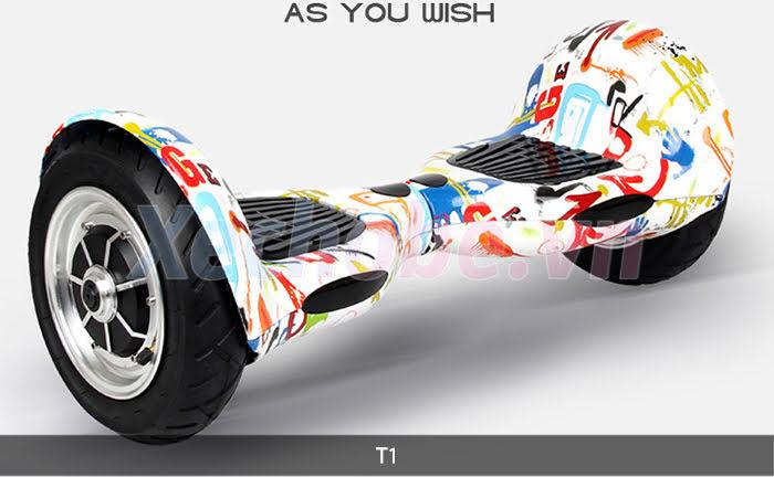 xe điện 2 bánh cân bằng T1