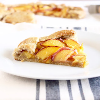 Whole Wheat Peach Galette
