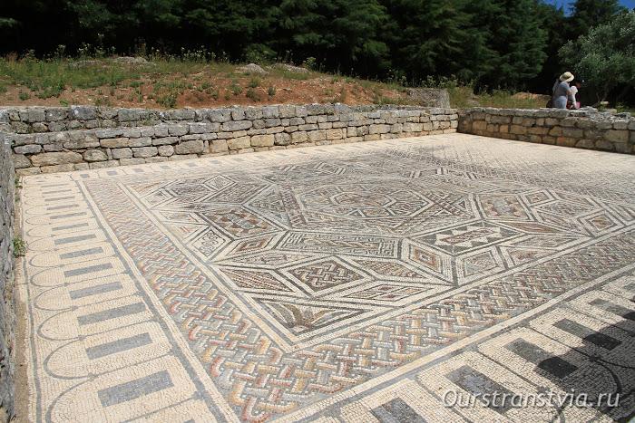 Конимбрига - мозаичные полы