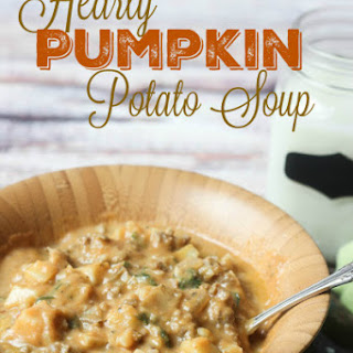 Hearty Pumpkin Potato Soup