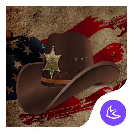 American style-APUS Launcher theme for Andriod