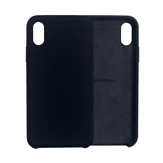 Merskal Soft Cover iPhone X/Xs - Black