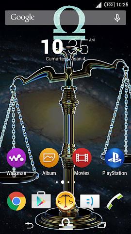 android For Xperia Theme Libra Screenshot 0