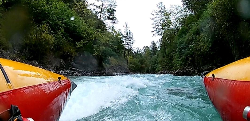 Отчёт о прохождении водного туристского спортивного маршрута третьей категории сложности по рекам Теберда – Большой Зеленчук – Аксаут