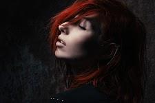 portret van meisje met rood-bruine haren