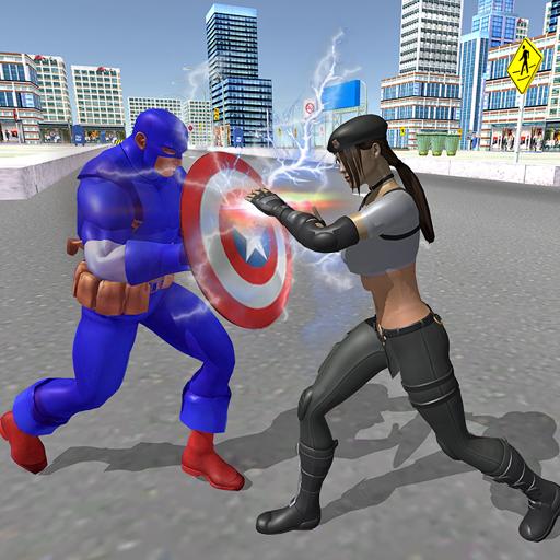 Amazing Captain Hero Fighting Fun  for PC