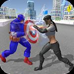 Amazing Captain Hero Fighting Fun ??️ Icon