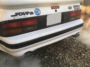 RX-7 FC3S H3年式 FC3S GT-Xのカスタム事例画像 棚里さんの2018年02月08日07:35の投稿