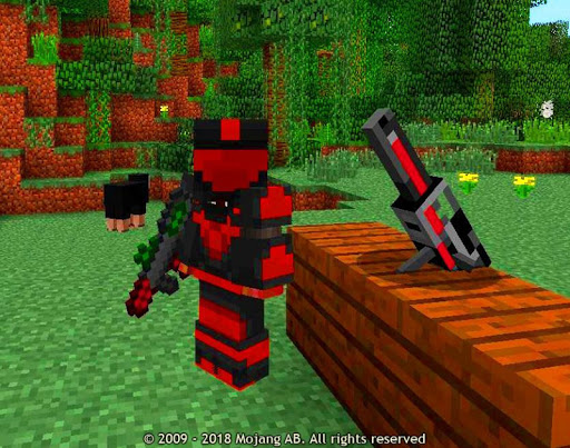 New Weapons Mod for Minecraft 1.9.80 screenshots 3