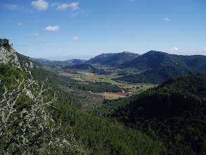Photo: Orient Valley from Serra d'Alfàbia (hike 48)