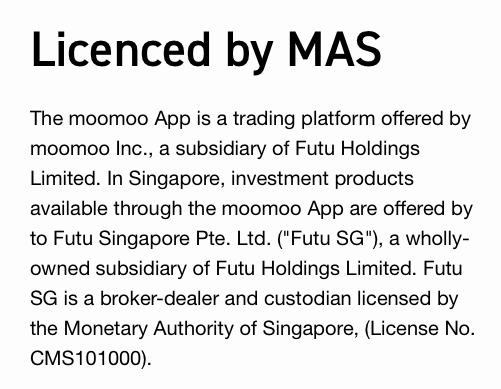 MOOMOO Review Licenced by MAS