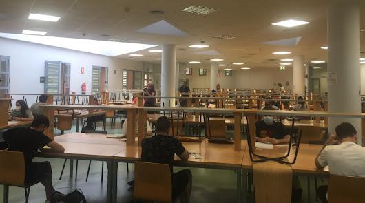 483 estudiantes se examinan de la PEvAU en una prueba marcada por la Covid-19