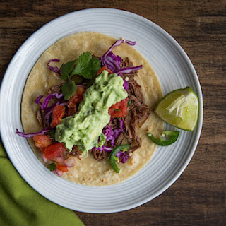 Slow Cooker Shredded Beef Tacos