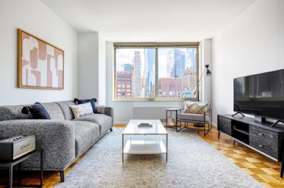 400 Chambers Street Furnished Apartments, Financial District