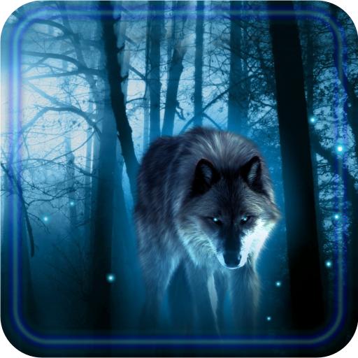 Wolves Night live wallpaper