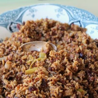 Ancho Multi-Grain Pilaf with Cranberries and Pecans Recipe