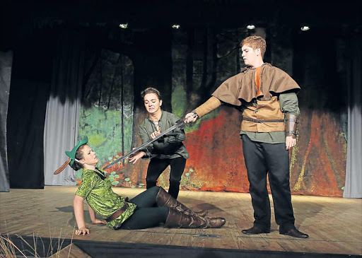 UPDATED: Stirling High School's production 'The Heart of Robin Hood' is on at the school until Saturday Picture: GARY HORLOR