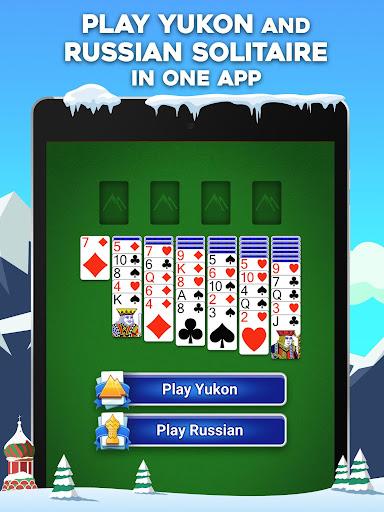 Yukon Russian u2013 Classic Solitaire Challenge Game 1.2.0.265 screenshots 7