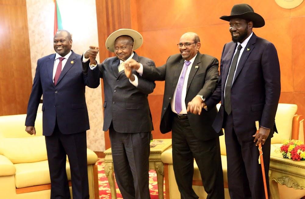 South Sudan Rivals Sign Peace Agreement In Khartoum