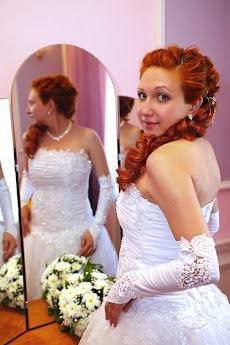 Самого огромного с невестой рыжая трансы