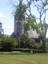 Photo: view of the Fisk Memorial Chapel