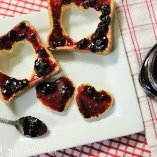 Sweet Dark Cherry Jam.