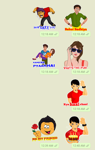 Stickers For Chat - Third Party WAStickerApps sgn_J8_2019 screenshots 1