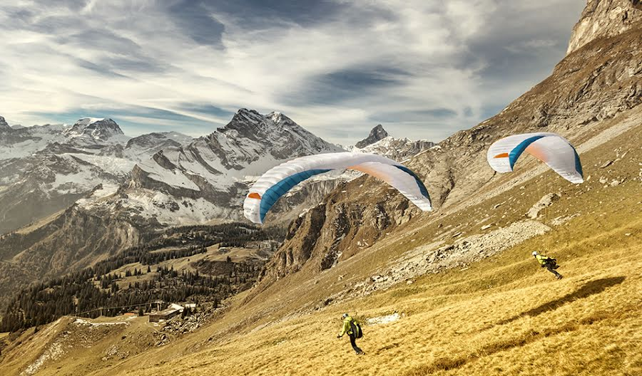How do I get into Hike and fly paragliding