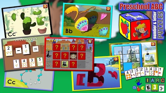Preschool ABC Numbers Letters 6