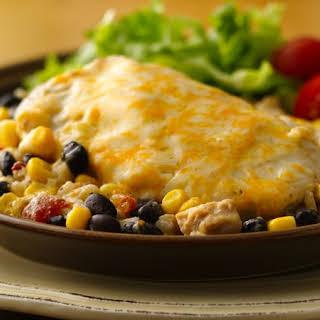 Cheesy Chicken and Rice Casserole.