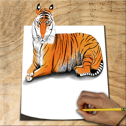 How to Draw Animals 3D Icon