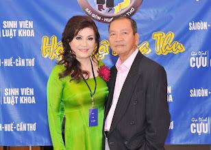 Photo: chị Cao Ánh Nguyệt –SVLK SaiGon & phu quân Nguyên Trung