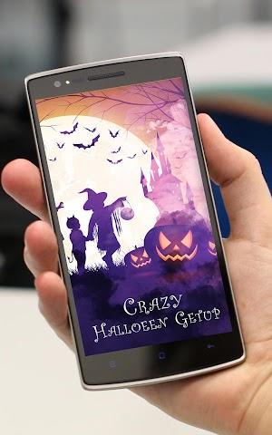 android Crazy Halloween Getup- Dresses Screenshot 0