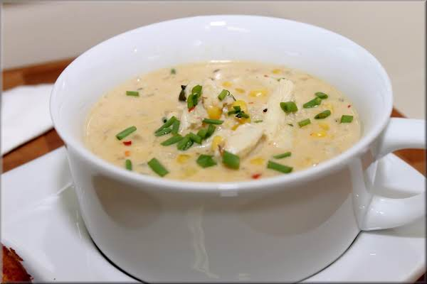 Comfort Zone Crab Chowder Recipe