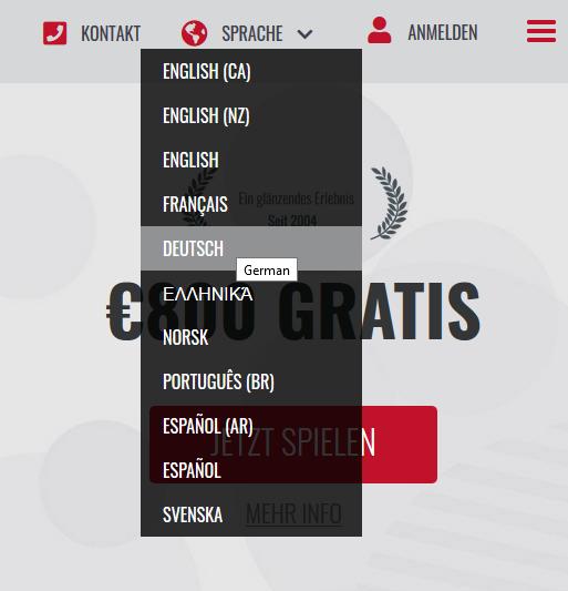 Casino Platinum Play: Spielen Sie auf Deutsch!